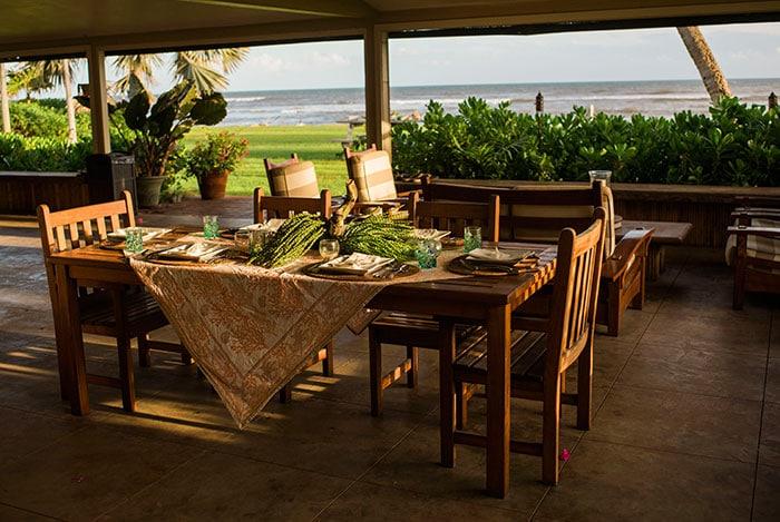 Beachfront Private Homes for Weddings on Kauai